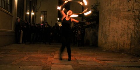 Hooping With Fire